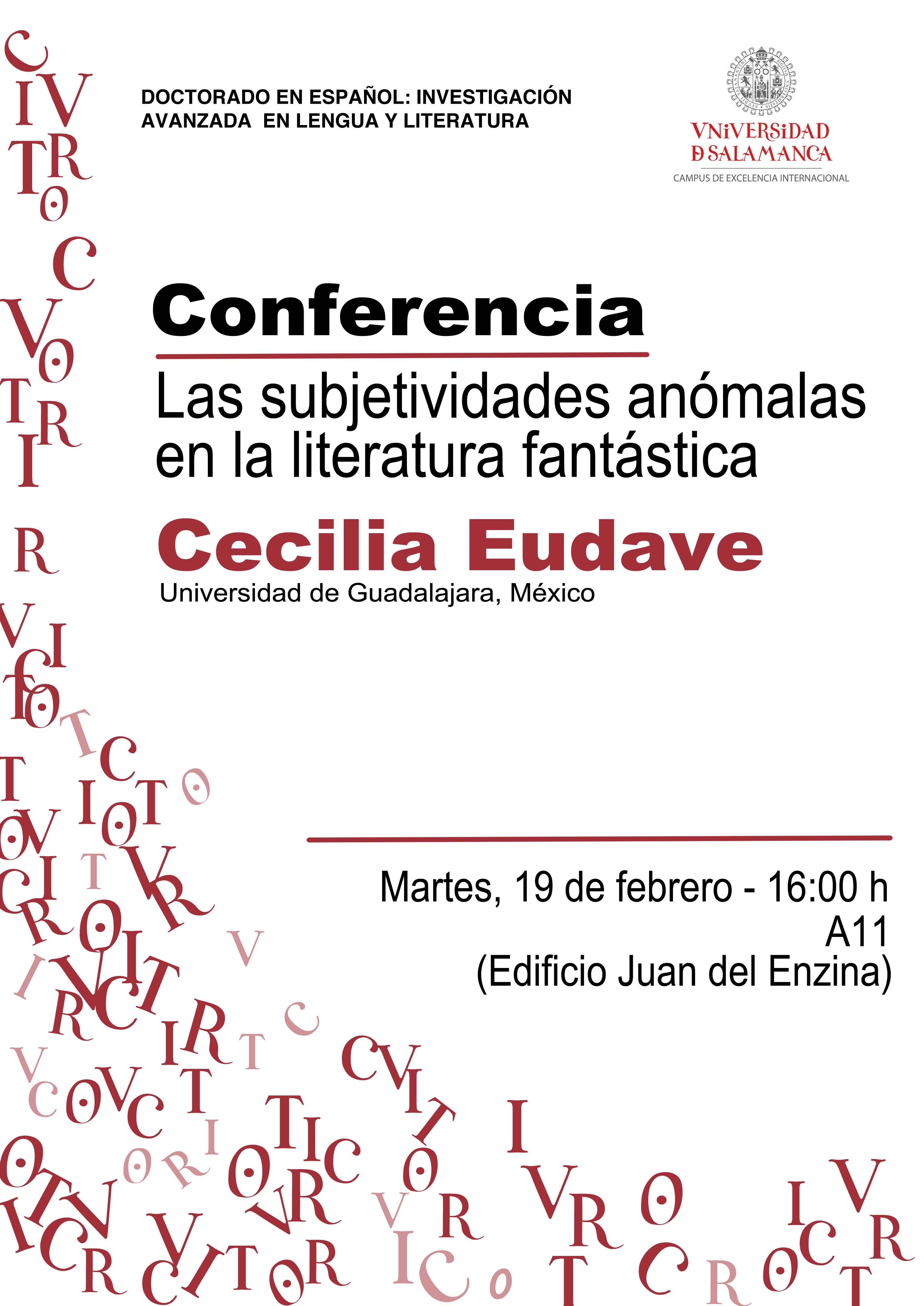 Conferencia de Cecilia Eudave