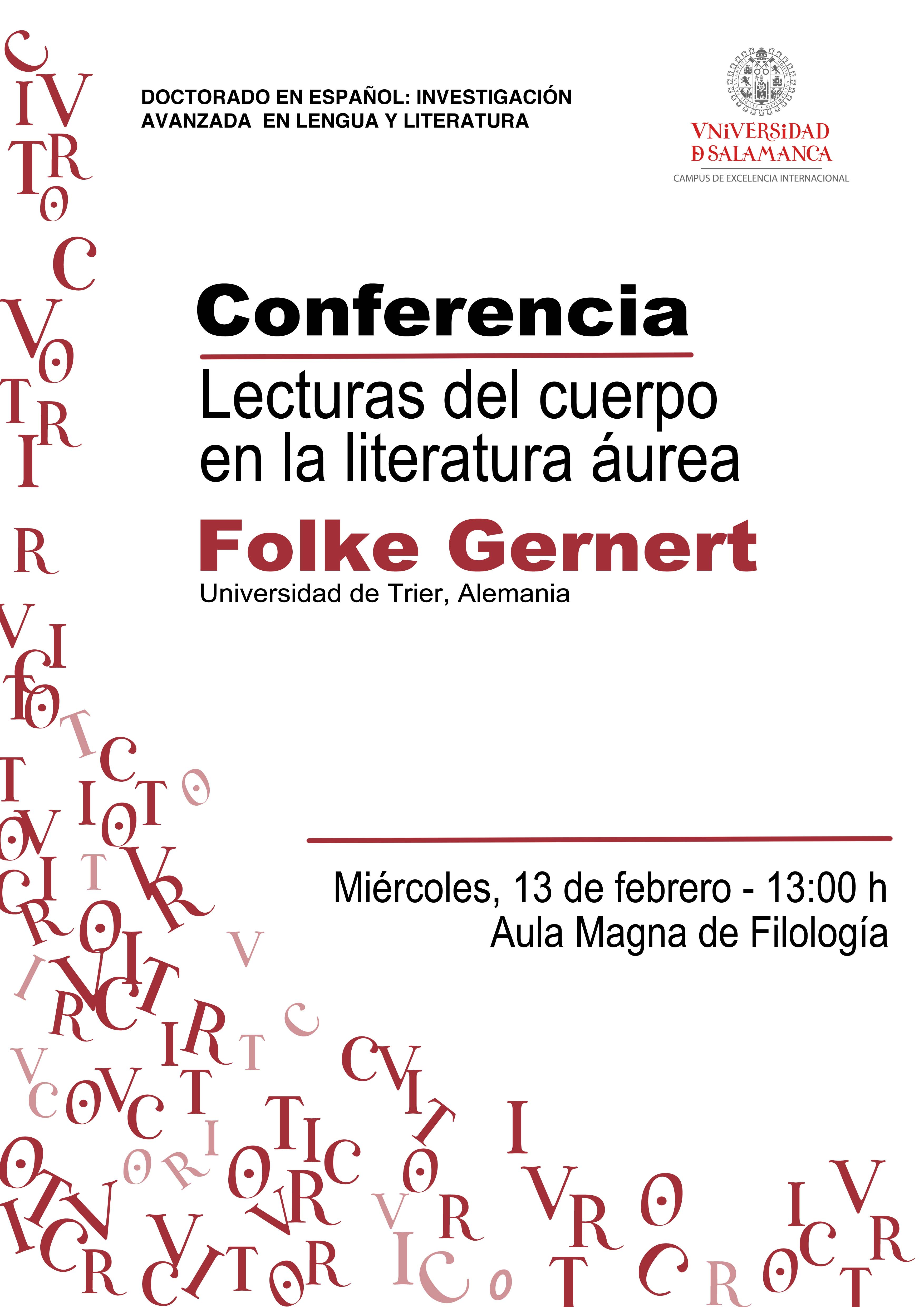Conferencia de Folke Gernert