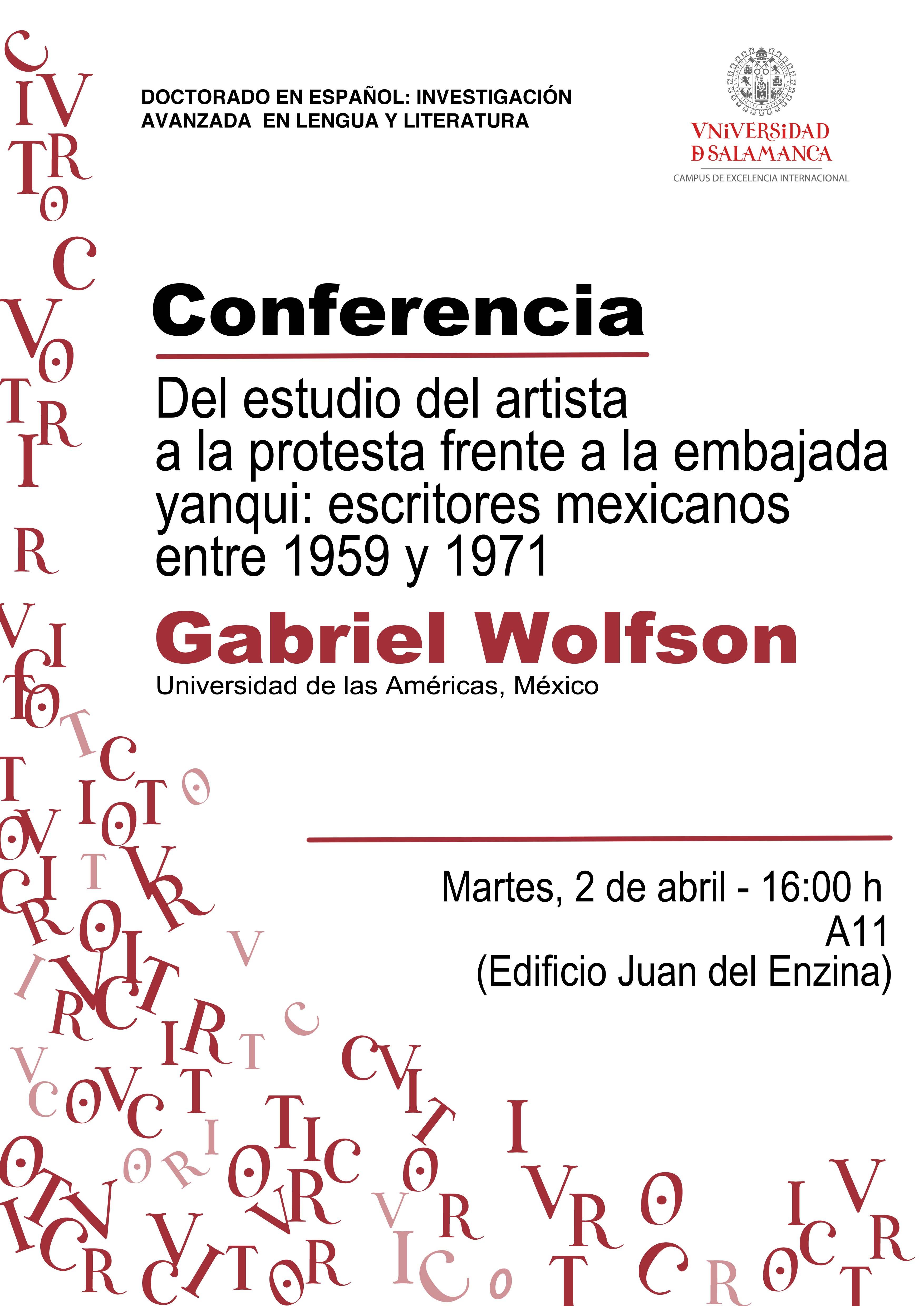 Conferencia de Gabriel Wolfson