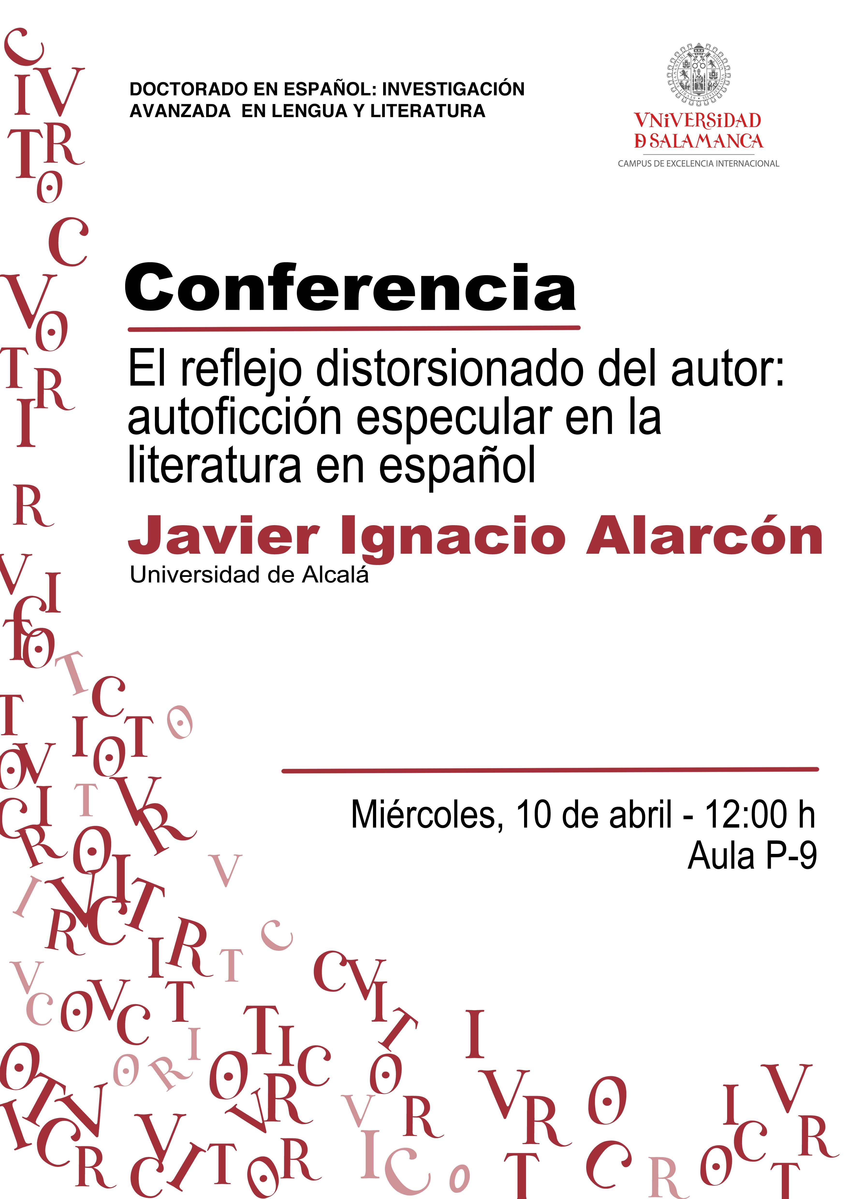Conferencia Javier Ignacio Alarcón