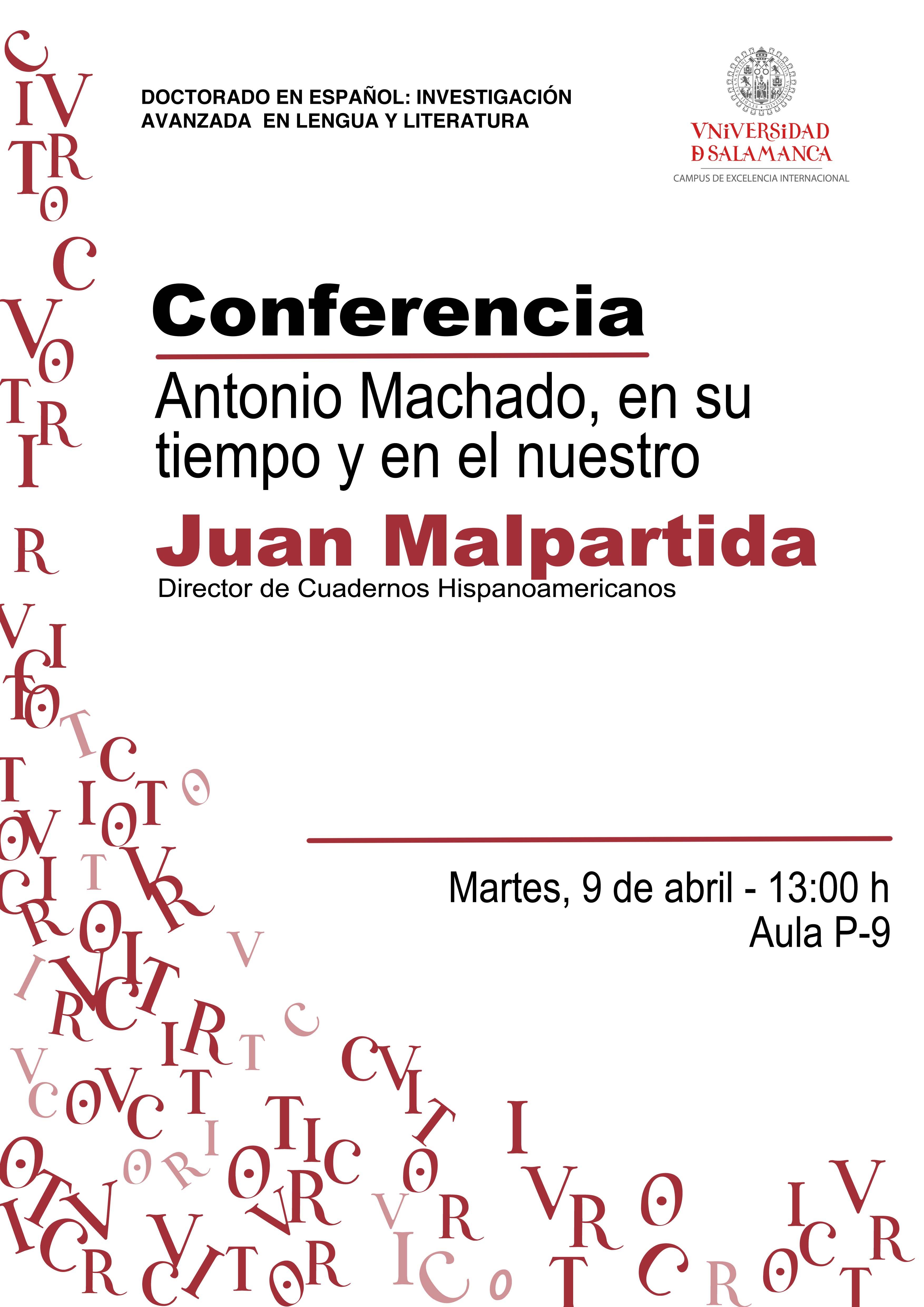 Conferencia de Juan Malpartida