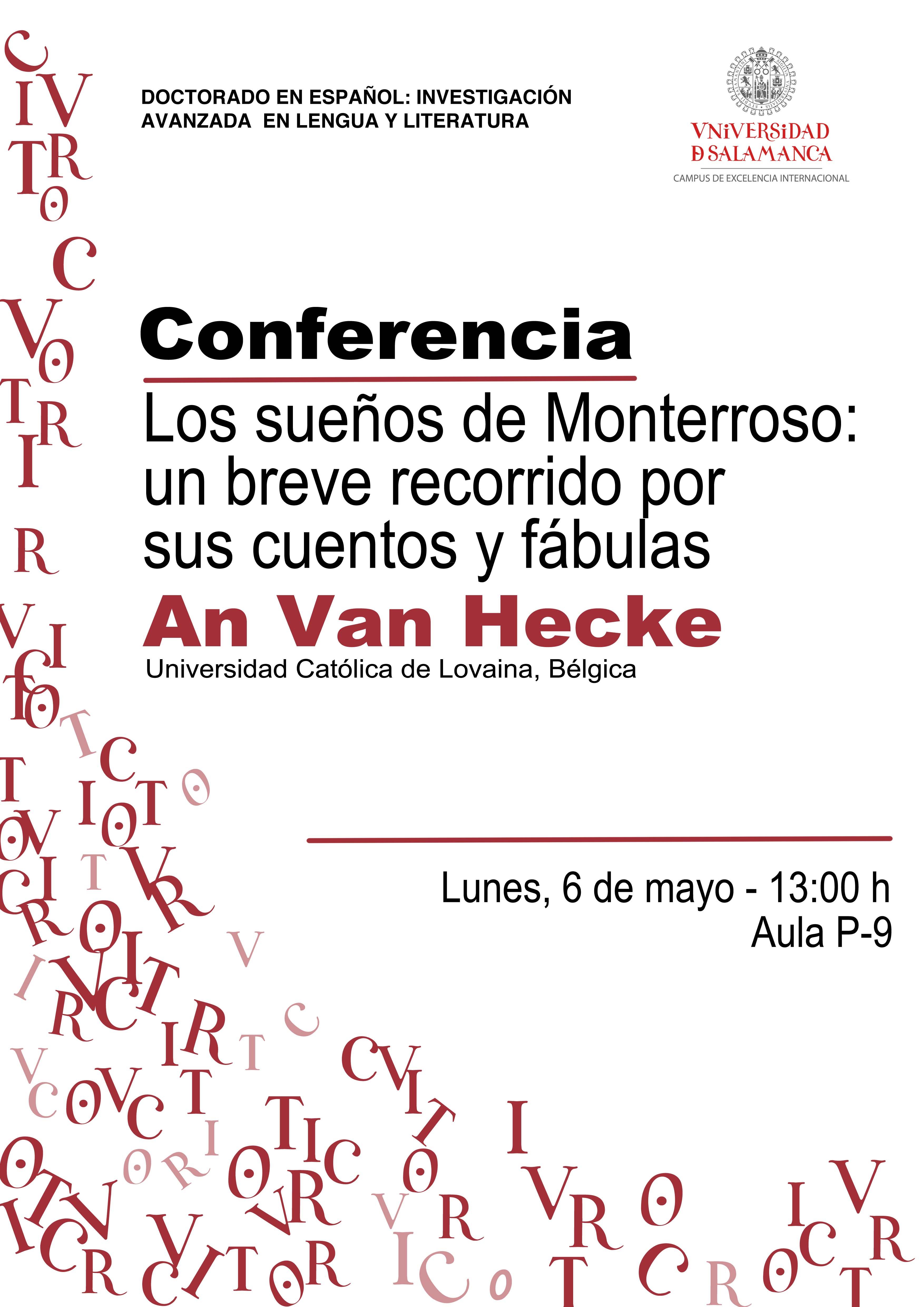 Conferencia de An Van Hecke