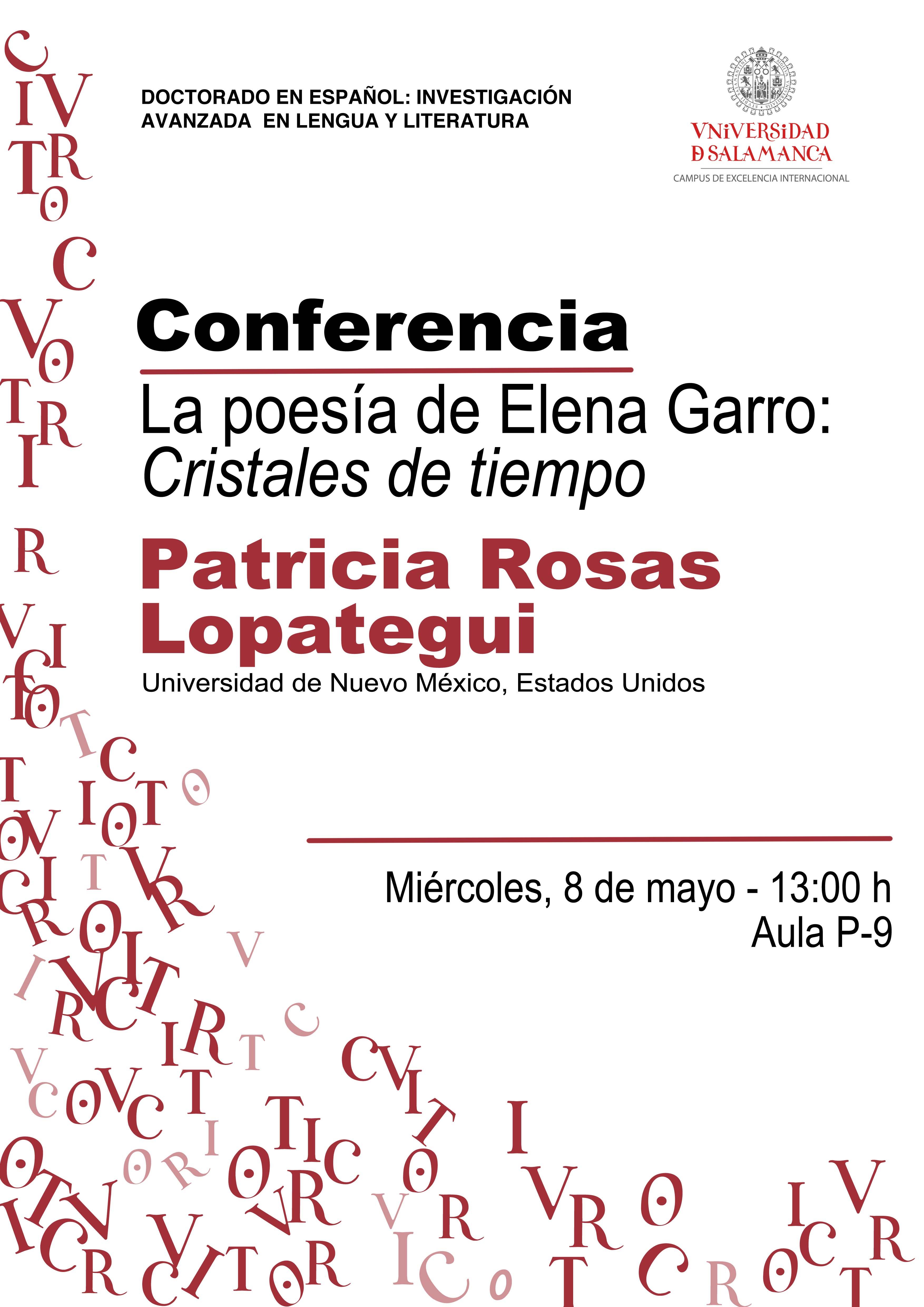 Conferencia de Patricia Rosas Lopategui